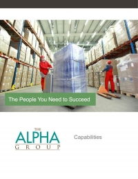 Alpha Group Services Overview Brochure