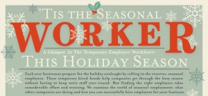 Tis the Seasonal Worker [infographic]