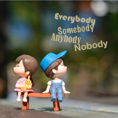 Everybody Somebody Anybody Nobody